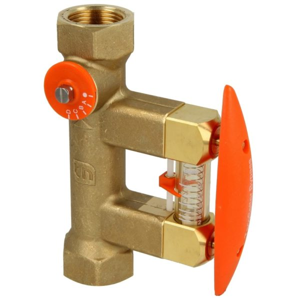 Taconova Bypass Flow Meter Complete With Fittings