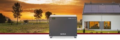 The Q CELLS All-In-One Energy Storage Solution Q CELLS Q.HOME on zerohomebills.com by solaranna