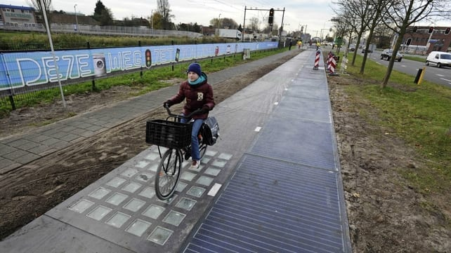 The first Solar Road