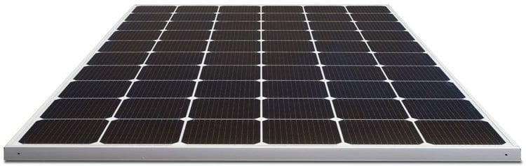 The LG Neon 2 Monocrystalline panels use high performance N-type cells with 12 wire busbars