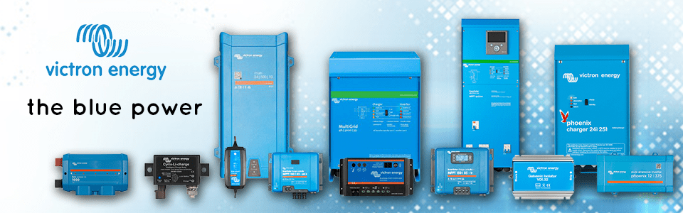 Victron Energy DIY Off-Grid Solar Charge Controllers and Solar Inverters for Sale