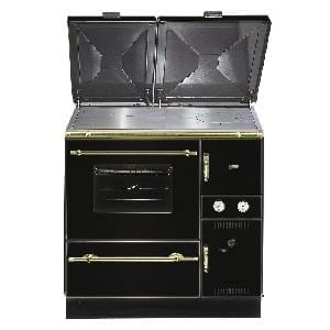 Wamsler 900 Series central heating cooker stove MIX -- USE Black (left)