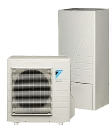 air source and ground source heat pumps