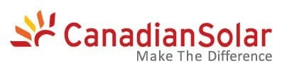 Canadian Solar logo on zerohomebills.com by solaranna