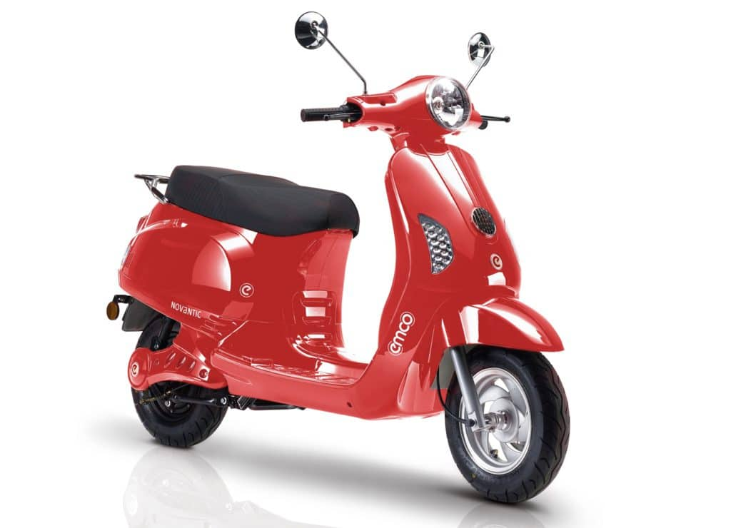 Emco Nova R 2000 Electric Scooter Red E Scooters