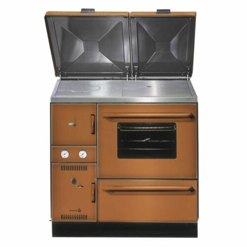 Wamsler 900 Series central heating kitchen stove MIX -- USE Brown